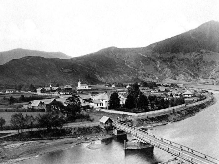 Le village de Brochteni dep de Soutchava