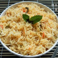 Masala Rice Recipe | How to make easy masala rice