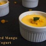Baked Mango Yogurt