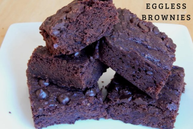 Eggless Brownie