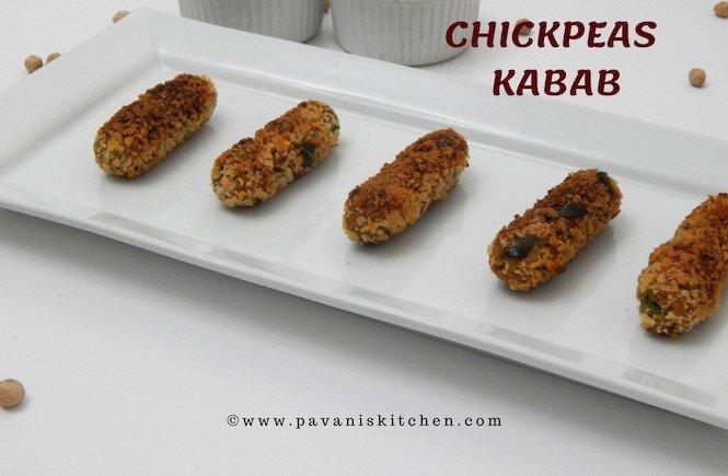 Chickpeas Kabab