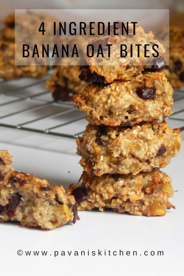 4 Ingredient Banana Oat
