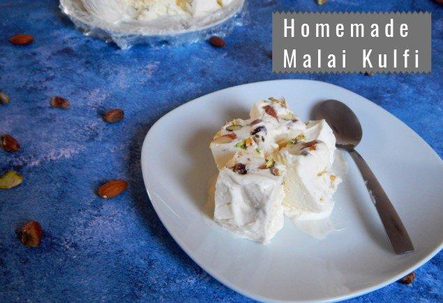 Homemade Malai Kulfi | Easy Malai Kulfi