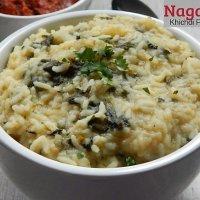Naga Galho Recipe – Khichdi from Nagaland