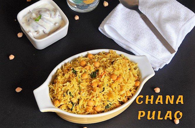 Chana Pulao