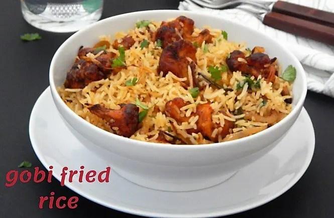 Gobi Fried Rice Recipe