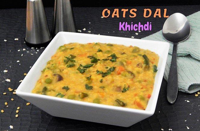 Oats Dal Khichdi