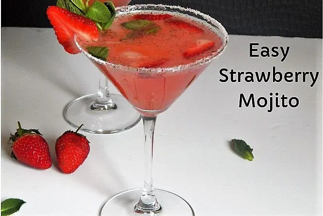 Easy Strawberry Mojito