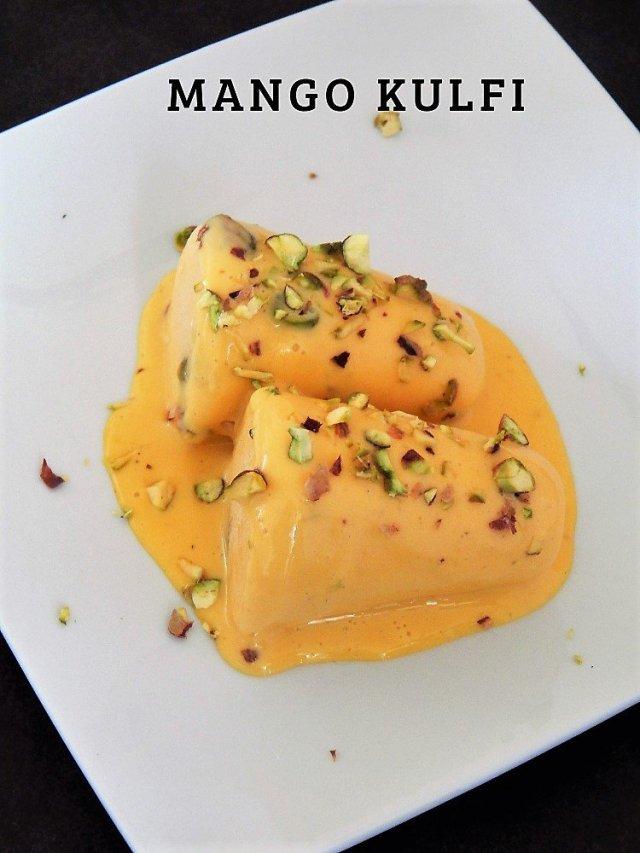 Easy Mango Kulfi Recipe