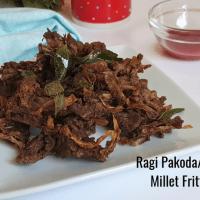 Ragi Pakoda Recipe | Finger Millet Fritters