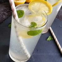 Easy sweet & salty lemonade recipe