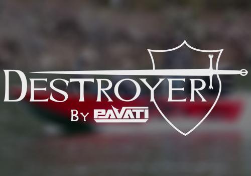 Pavati Destroyer Sled Boat Logo