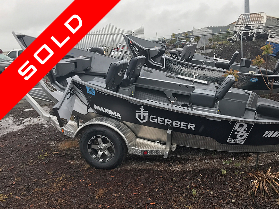 Sold! Pavati Marine Day One Outdoors Drift Boat