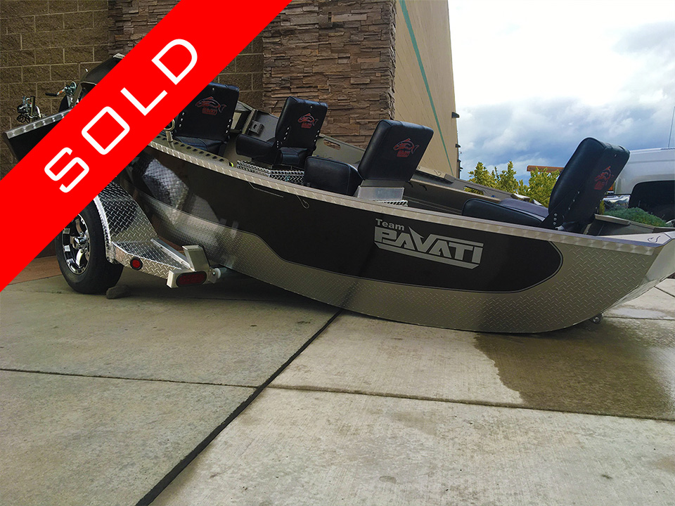 Sold! Pavati Marine Elite Guardian Drift Boat