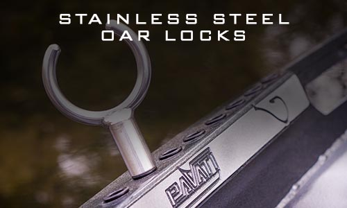 Pavati Marine Stainless Steel Adjustable Oarlocks