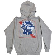 Clothing and Accessories by Pavati Marine - PBR Ribbon Pullover Hoodie - Front