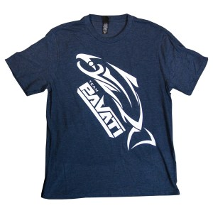 Clothing and Accessories by Pavati Marine - Full-Sized Logo on Ribbon Tee - Front