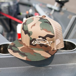 Clothing and Accessories by Pavati Marine - Desert Camouflage Snap-Back Hat