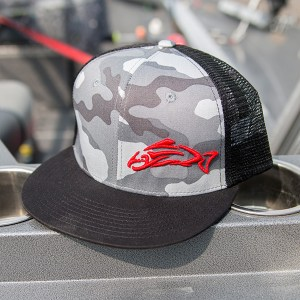 Clothing and Accessories by Pavati Marine - Black Legacy Snap-Back Hat with Urban Camouflage