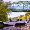 Dodge Bridge Rogue River with Pavati Marine Drift Boat