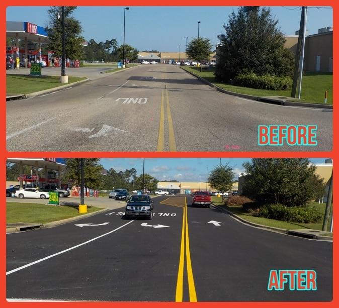 pavement services houston texas