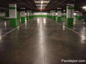 Parking Hormigón Pulido