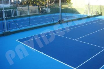 Rehabilitación pistas de tenis del Real Tenis Club de Cádiz