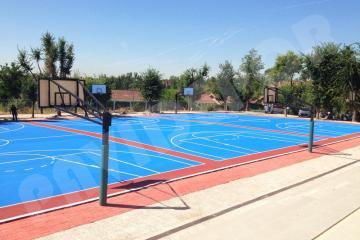 Rehabilitacion pista de baloncesto, Madrid 08