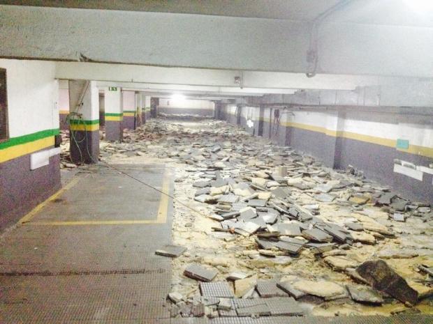 Rehabilitación suelo garaje