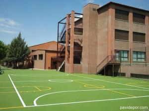 Construcción pistas deportivas colegio