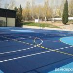 Pavimento deportivo PaintQuick para pista polideportiva