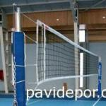 red de voleibol