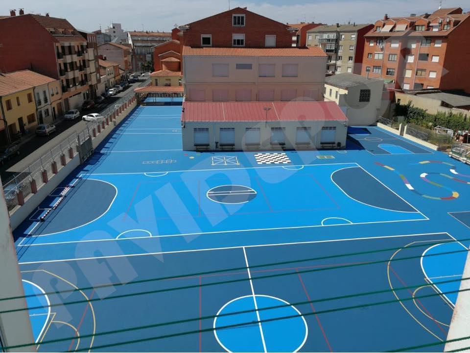 pista deportiva colegio