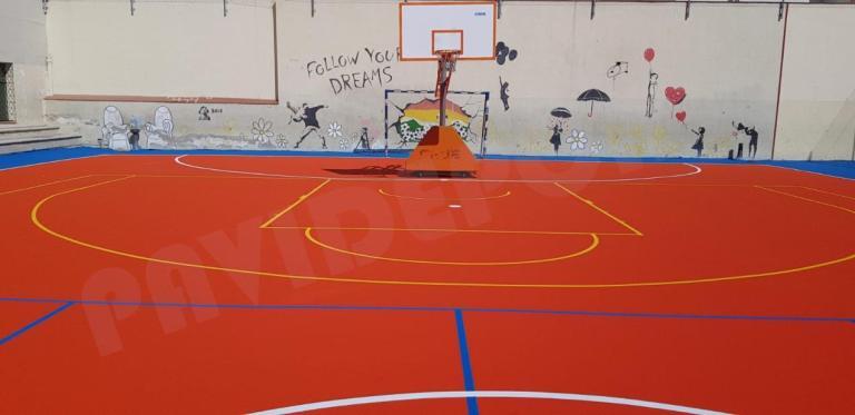 Pintado baloncesto