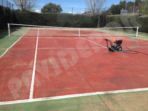 limpieza tenis