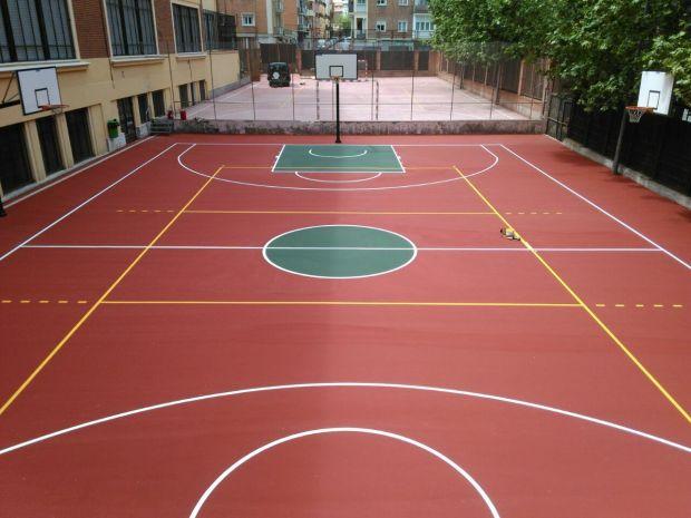 Pavimento deportivo Pavidepor Standard para pista polideportiva