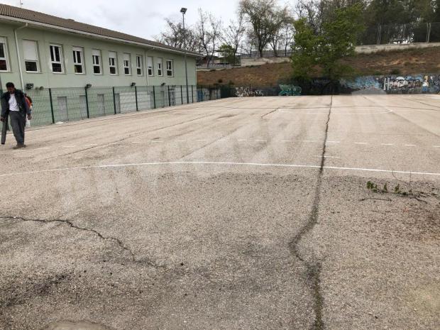 Sellado de grietas asfalto