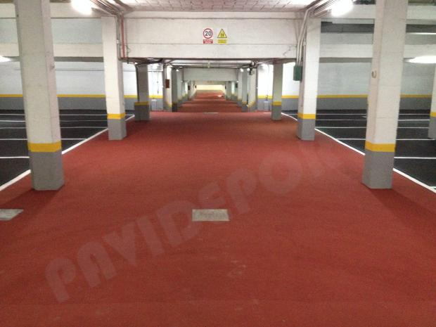 pavimento para garaje slurry