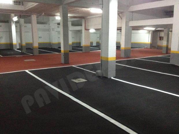 Pavimento slurry garaje