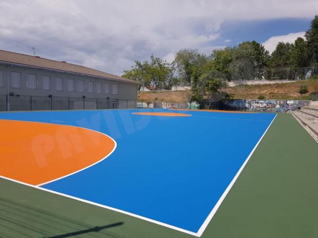 Pista deportiva colegio Madrid
