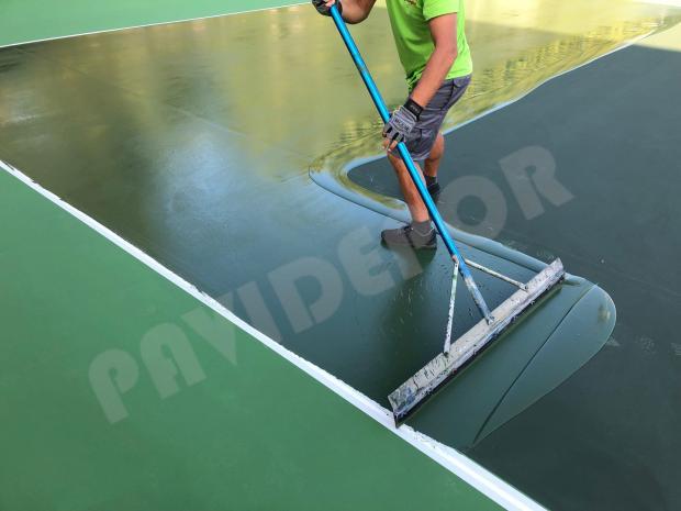 resinas para tenis
