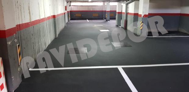 asfaltado garaje