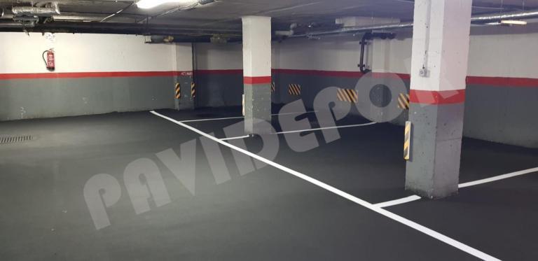 asfaltado garaje madrid