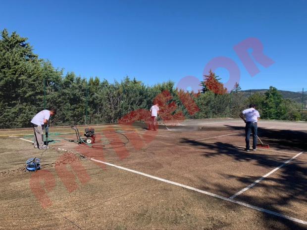 construcción tenis madrid