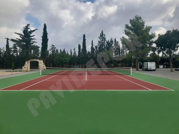 Construcción tenis