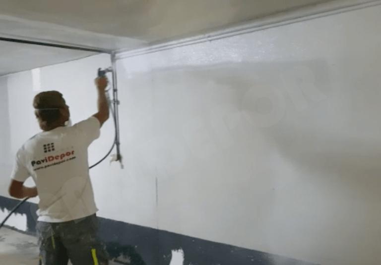 Pintado garaje
