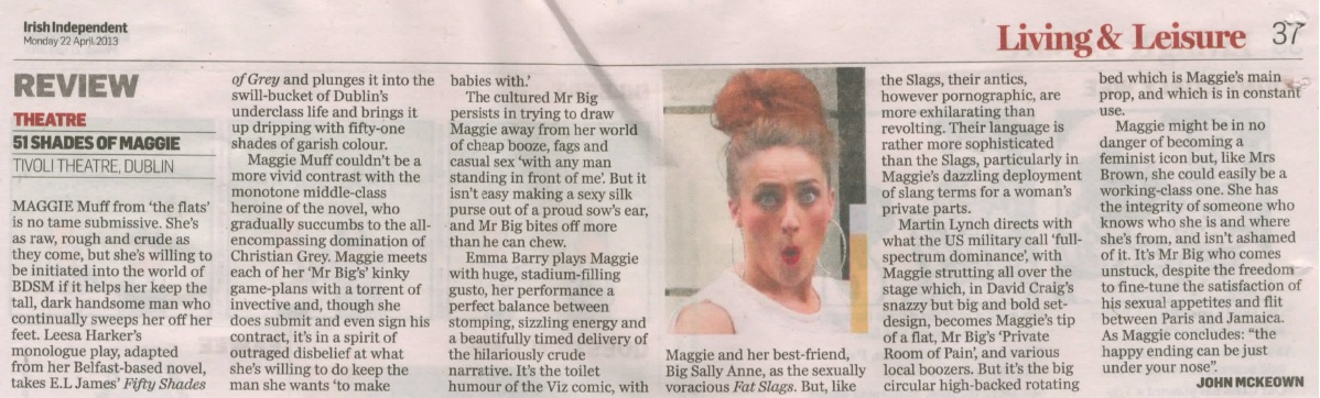 Irish Independent Review