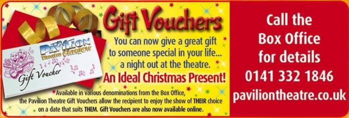 Gift Vouchers Xmas