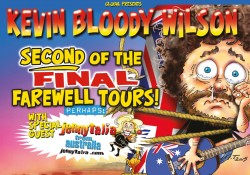 KEVIN BLOODY WILSON at the Pavilion Theatre, Glasgow