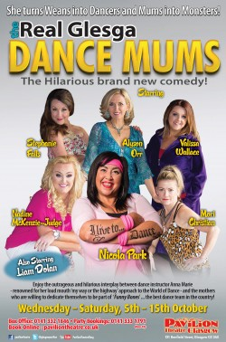 The Real Glesga Dance Mums at the Pavilion Theatre, Glasgow